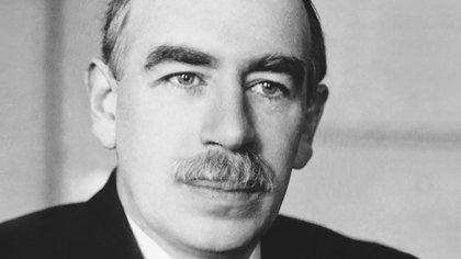 John Maynard Keynes, economista británico que participó de las negociaciones en Versalles