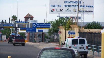 El cruce fronterizo entre Agua Prieta y Arizona, en el norte de México (Foto: archivo)