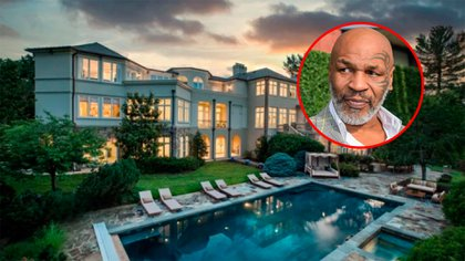 mansion mike tyson