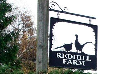 La Redhill Farm, en Gloucestershire, donde Prout y su esposa habían creado un coto de caza y se convirtió en el escenario de un horrendo femicidio (REUTERS)