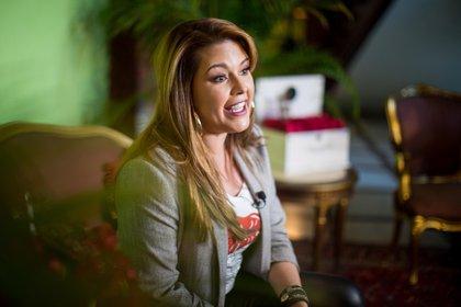 """Alicia Machado también aseguró que le gustaría que le produjeran una bioserie, pero """"cuando sea viejita"""" (Foto: Archivo)"""