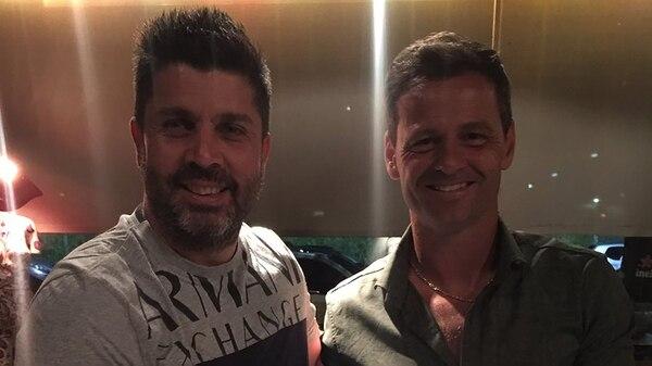 Christian Bragarnik y Diego Cocca