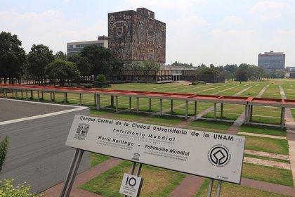 La UNAM indicó que los lineamientos serán aplicados en todas sus unidades a fin de garantizar una reanudación ordenada de las actividades y procurando en todo momento la protección del Derecho Humano a la salud.(Foto: EFE/Sáshenka Gutiérrez)