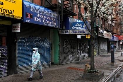 El impacto del COVID-19 en la economía global no tiene antecedentes. (REUTERS/Andrew Kelly)