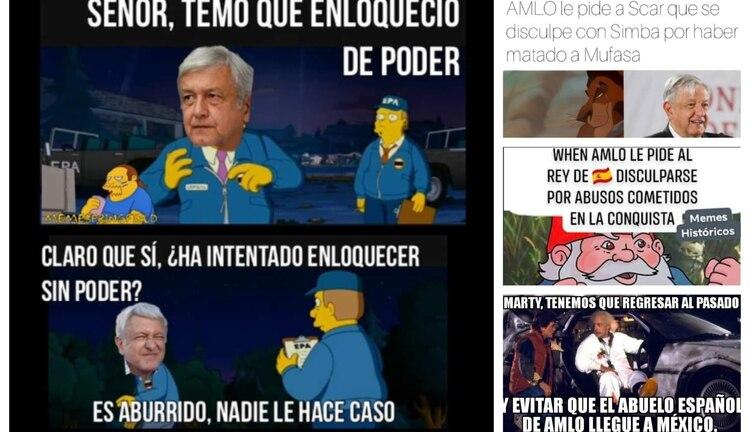 Lòpez Obrador fue criticado duramente en redes sociales (Foto: Twitter)
