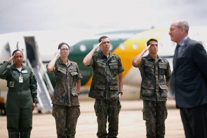 El ministro de Defensa de Brasil, Fernando Azevedo (REUTERS/Adriano Machado)