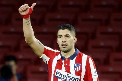 Luis Suárez tiene contrato hasta 2022 con el Atlético de Madrid (Reuters)