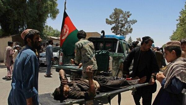 Atentado en Afganistán (AFP)