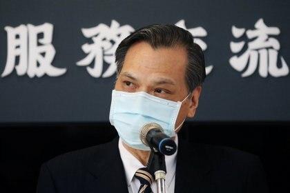 El ministro del Consejo de Asuntos de China Continental, Chen Ming-tong (REUTERS/Ann Wang)