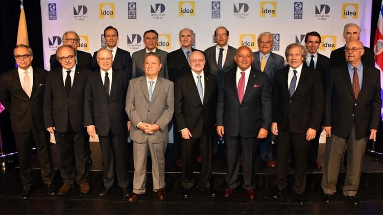 Ex presidentes que integran IDEA (Crédito: IDEA)