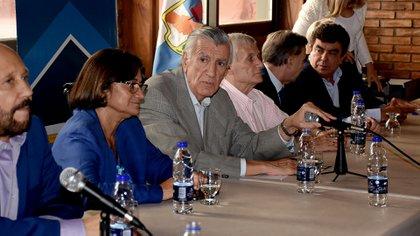 El sanjuannino José Luis Gioja presidió el partido a lo largo de 5 años (Nicolás Stulberg)