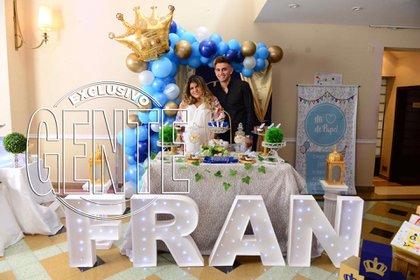 """Fran"", así llamarán a Francesco Benicio, el bebe con fecha de llegada 2 de abril."