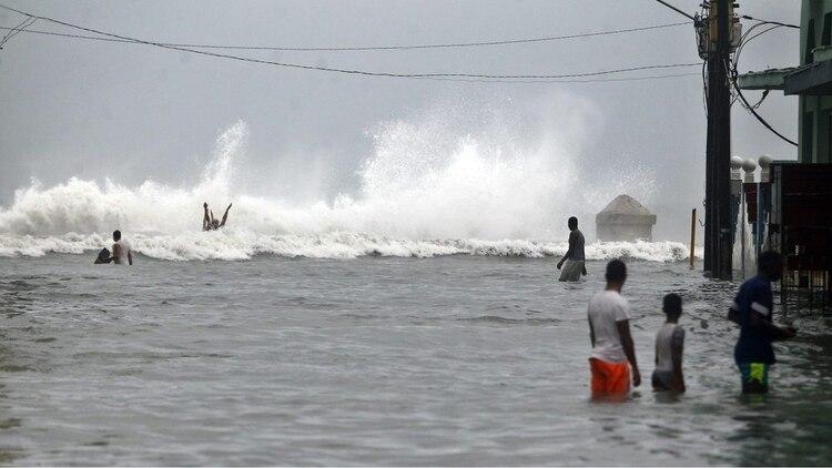 Las inundaciones en diferentes partes del planeta son algunas de las consecuencias del cambio climático. Foto: Archivo DEF.