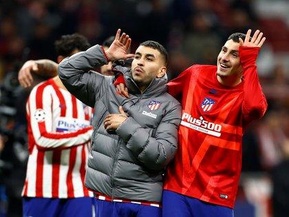 El Atlético irá a Inglaterra con el resultado a su favor - REUTERS/Juan Medina
