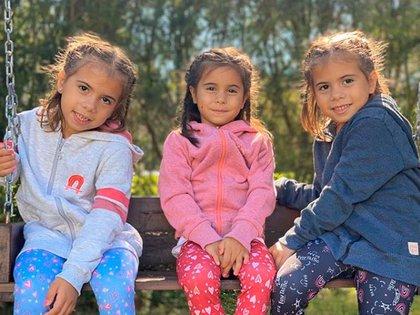 Cinthia Fernández está en conflicto constante con el padre de sus tres hijas