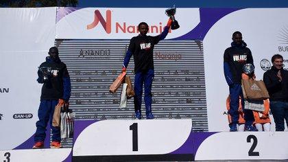 El keniata Bedan Karoki y el etíope Mosinet Geremew fueron las grandes estrellas de la medio maratón más convocante de Latinoamérica