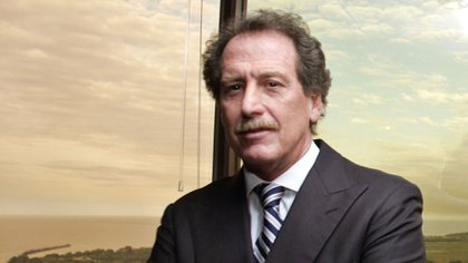 Una fotografía del presidente de Macro, en 2006, durante el Reuters Latin America Summit en Buenos Aires (REUTERS/Enrique Marcarian)