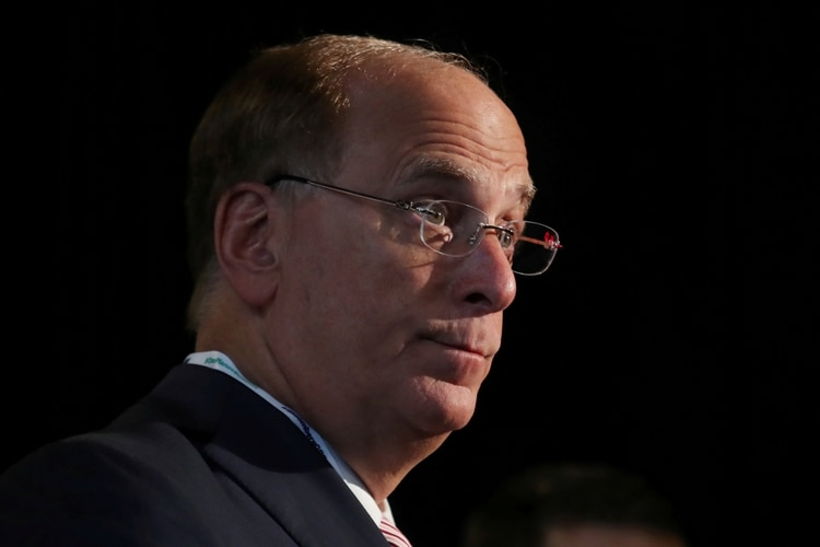 Larry Fink, CEO de BlackRock (REUTERS/Shannon Stapleton/File Photo)