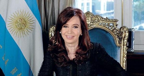 CRISTINA FERNANDEZ. Foto: Archivo GENTE