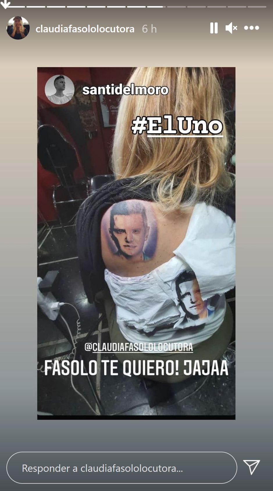 tatuaje Santiago del Moro