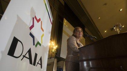 Mabel Rius es, actualmente, la responsable de Recursos Humanos de HSBC (Adrián Escandar)