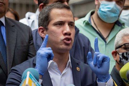 El líder opositor venezolano, Juan Guaidó. EFE/Rayner Peña/Archivo