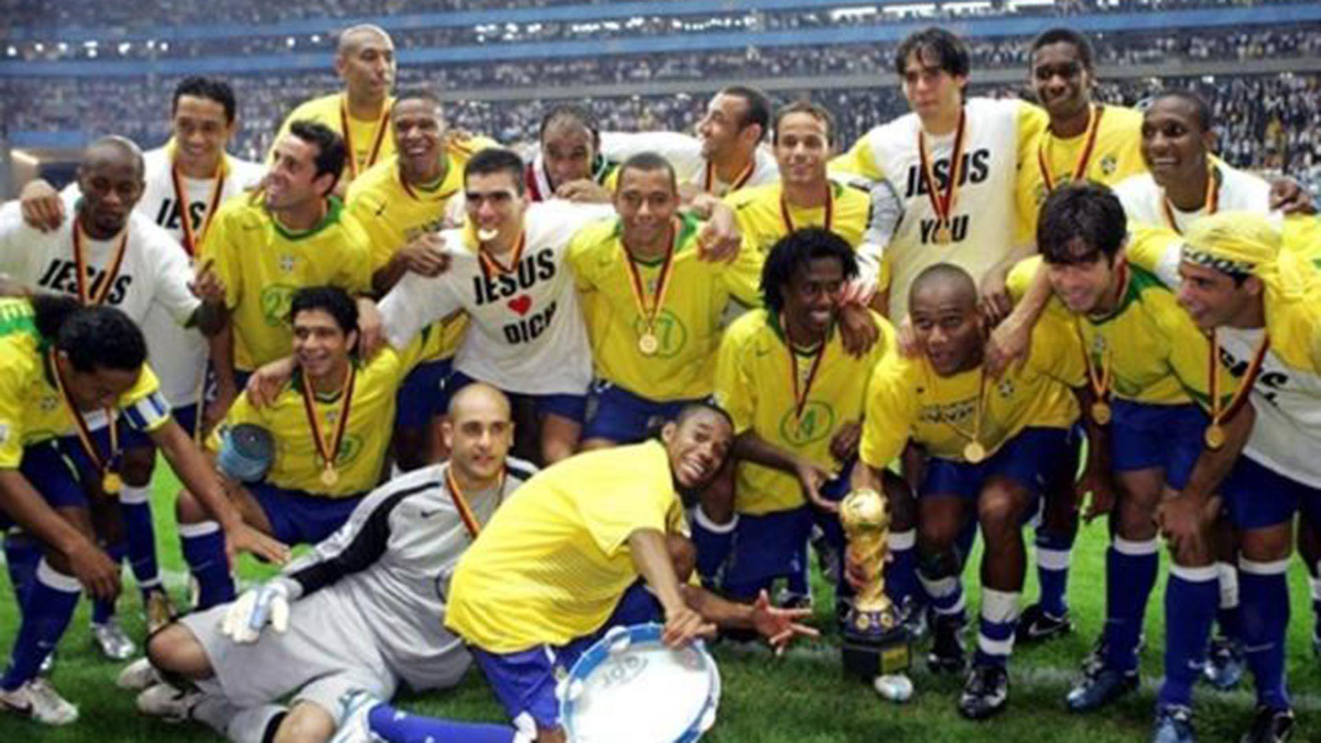 Brasil campeon Copa Confederaciones de Sudáfrica 2009 1920