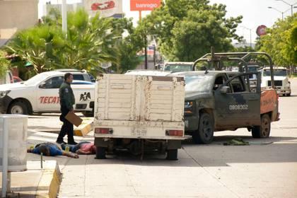 """El pasado 17 de octubre, la captura de """"El Ratón"""" provocó una batalla en Culiacán (Foto: JUAN CARLOS CRUZ /CUARTOSCURO)"""