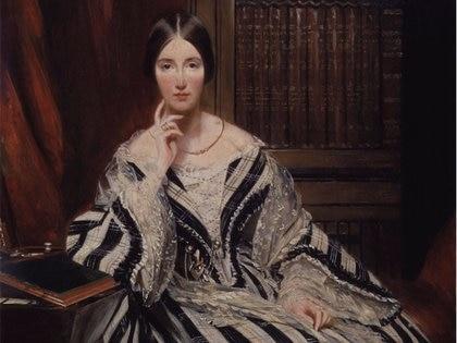 Angela Burdett-Coutts, fuenombrada noble por su tarea filantrópica. (National Portrait Gallery)