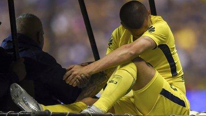 Benedetto ha subito una rottura legendariata sul ginocchio destro (Getty Images)