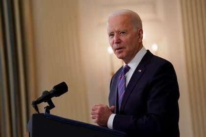Joe Biden presentó su ambicioso plan de infraestructura (REUTERS/Erin Scott)