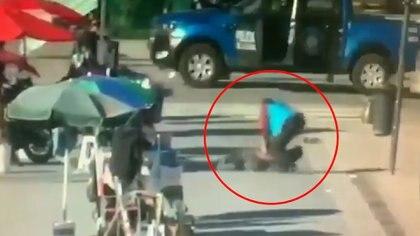 El atacante está detenido y será evaluado su estado mental