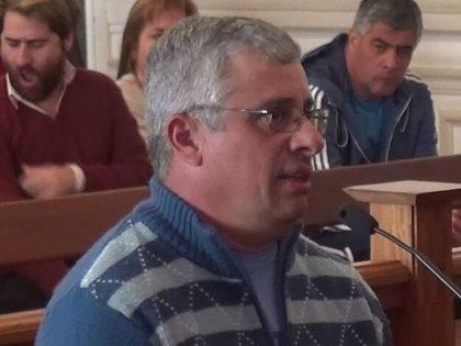 El jefe del módulo Rubén Constantín, condenado a seis años de prisión.