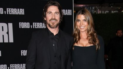 Christian Bale con su esposa Sibi Blazic en TCL Chinese Theatre, Los Angeles (Foto: Matt Baron/Shutterstock)