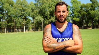 El Ogro Fabbiani tiene 36 años y estudia la posibilidad de ser entrenador (Maximiliano Luna)