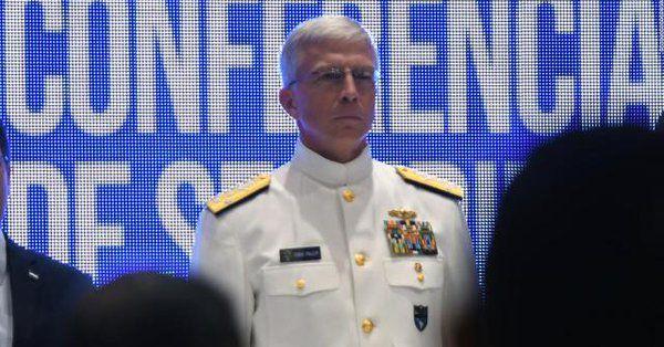 Craig S. Faller, jefe del Comando Sur de los Estados Unidos