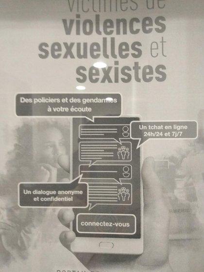 El sistema público francés decidió que las multas son una herramienta válida para combatir la violencia sexual además de ayudar con aplicaciones tecnológicas a las víctimas.