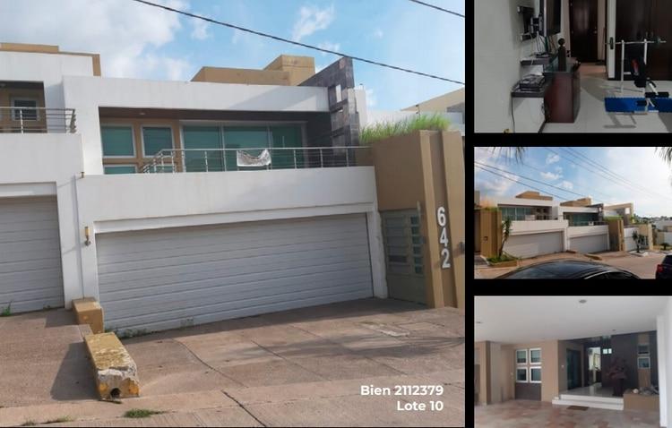 """Entre las casas, también se vende esta, que fue propiedad de Griselda López, ex esposa de Joaquín """"El Chapo"""" Guzmán y madre de Ovidio Foto: (SAE)"""