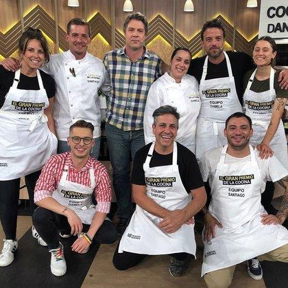 Christian Petersen Sofia Zelaschi se conocieron en la primera temporada de El gran premio de la cocina (Foto: Instagram)