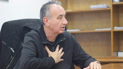 Miguel Angel Bustinduy, líder de la oposición en la UTA