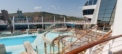 MSC Fantasía, la piscina