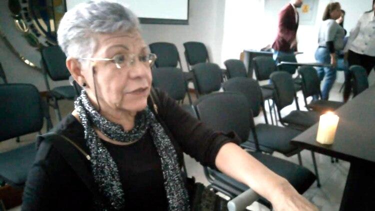 Margot Esparragoza se quedó sin nevera desde 2019