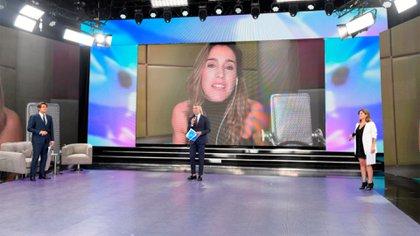Soledad fue la primera famosa en participar en el programa solidario (Prensa Telefe)