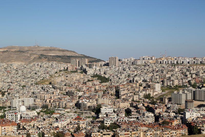 Vista general de Damasco, Siria. 22 de abril de 2021. REUTERS/Yamam al Shaar