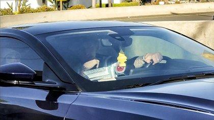 La foto de Megan Fox con Machine Gun Kelly (Grosby)