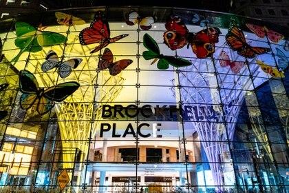 En el Brookfield Place del bajo Manhattan habrá un show de luces (Reuters)