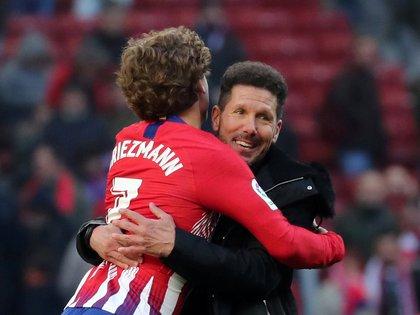 Griezmann y Simeone compartieron club durante cinco temporadas - REUTERS/Sergio Perez/File Photo
