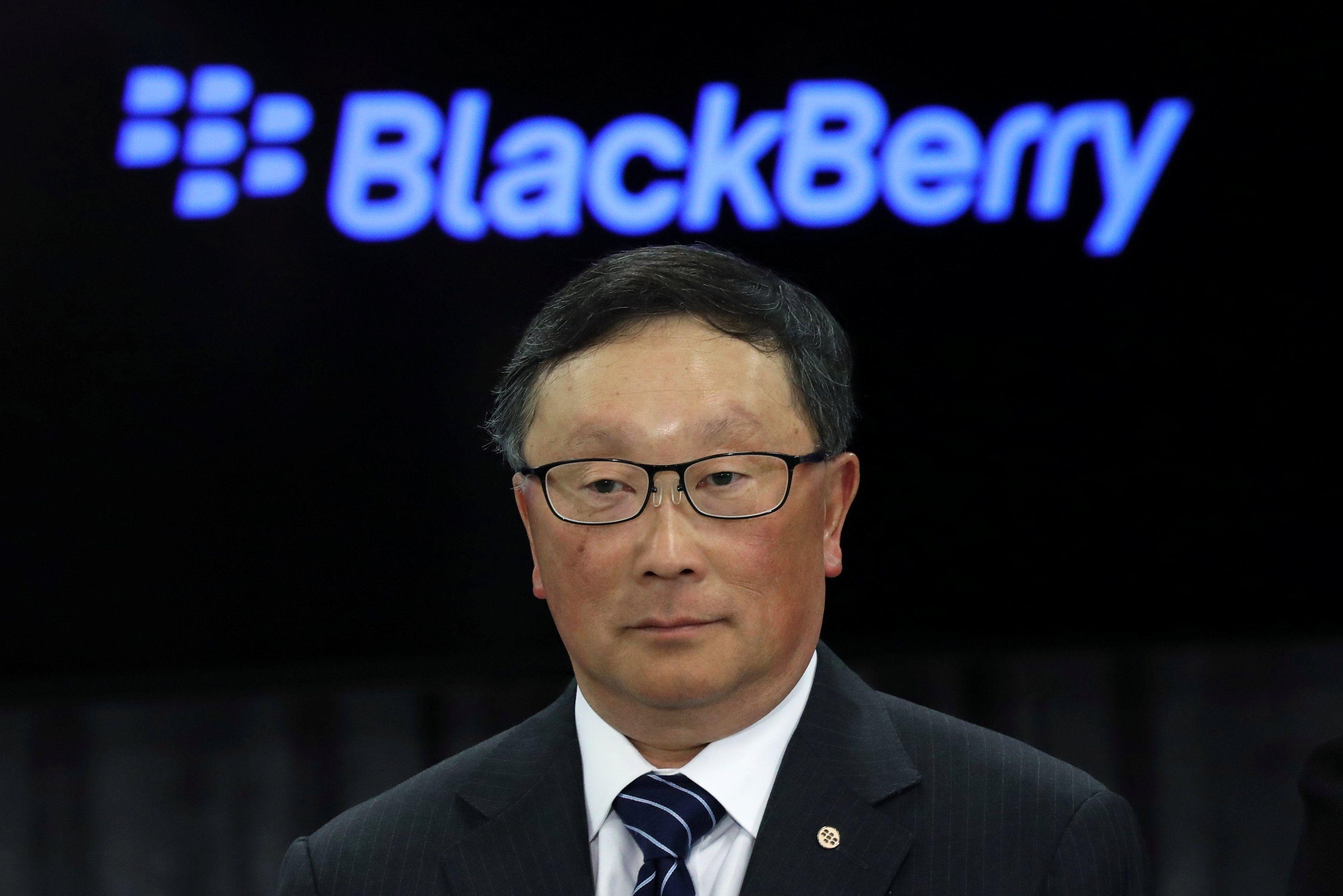 El CEO de Blackberry, John Chen