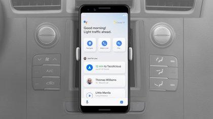 El Modo Conducción llega al Asistente de Google.