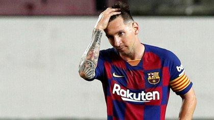 Lionel Messi estudia la idea de abandonar Barcelona (Reuters)